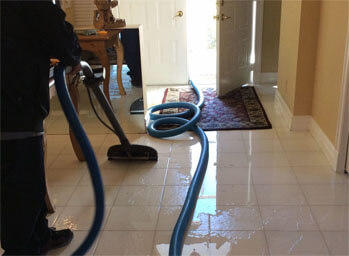 Commercial Water Damage Job, Jacksonville, NC