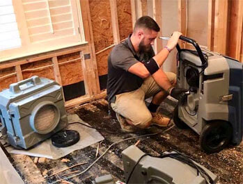 Spring Water Damage Company Spring, Texas