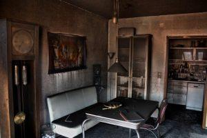 residential fire damage restoration