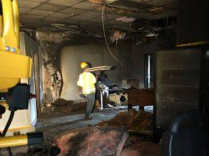 all dry commercial fire damage restoration