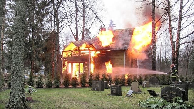most common house fire causes
