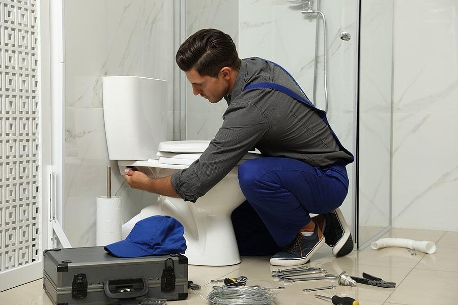 Broken Toilet Repair