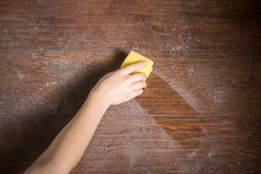 Cleaning Mold Off Wood