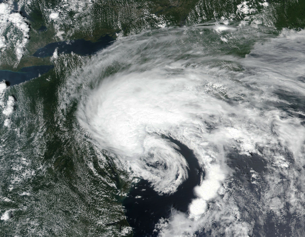 Tropical Storm Fay New York