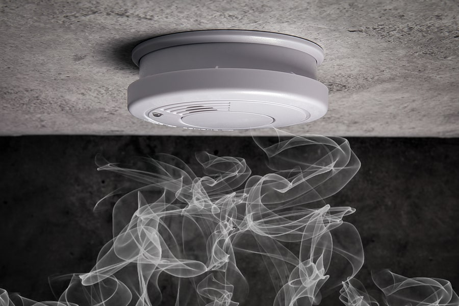 Install Smoke Alarm