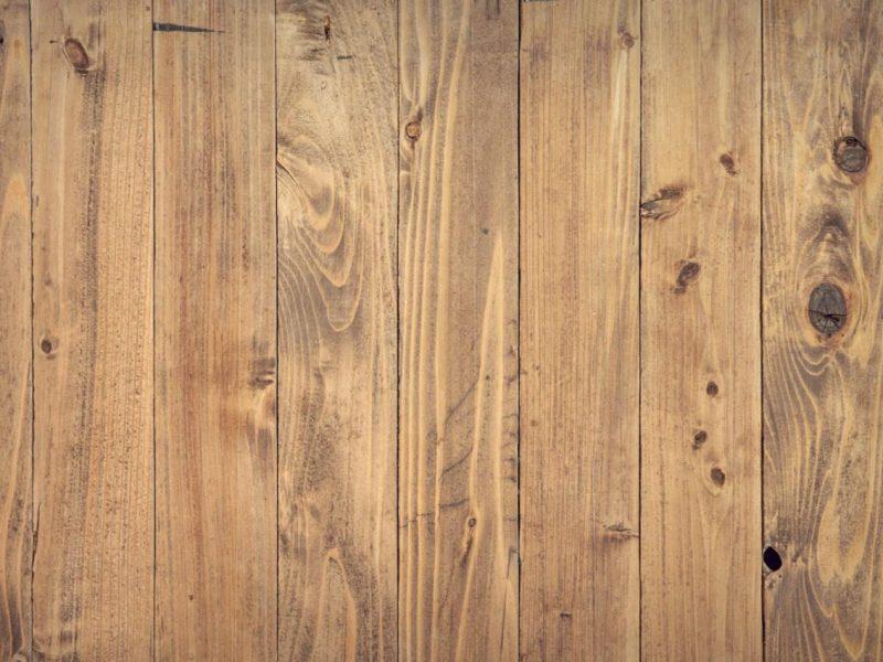 Smoke Damaged Wooden Floorboards