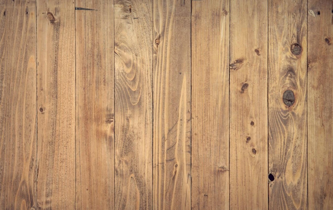Smoke Damaged Wooden Floorboards