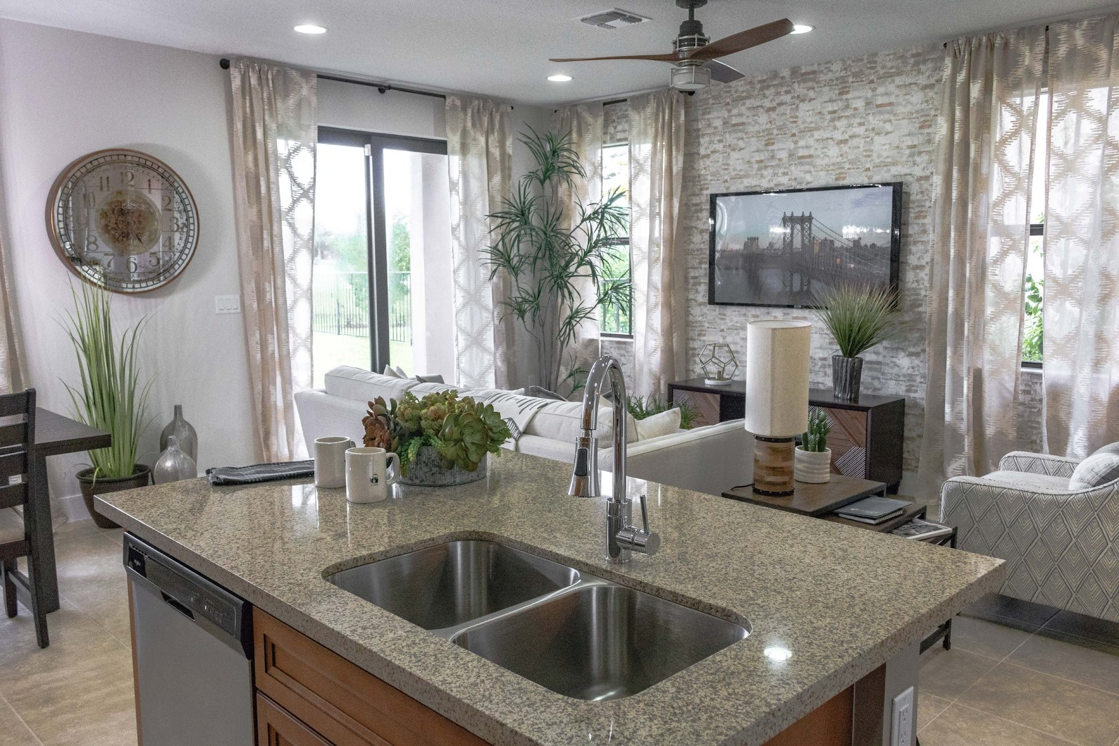 Gray Marble Counter