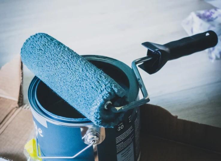 Bucket Of Blue Paint