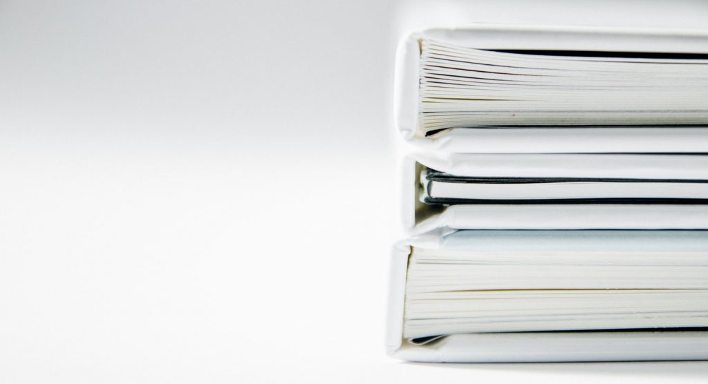 Collection Of Stacked White Documents