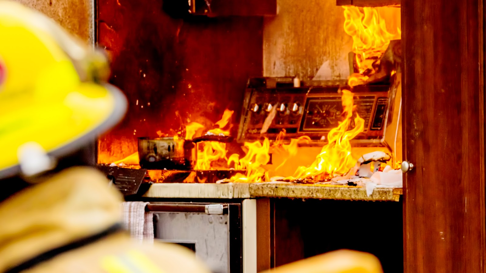 Electrical Appliances On Fire