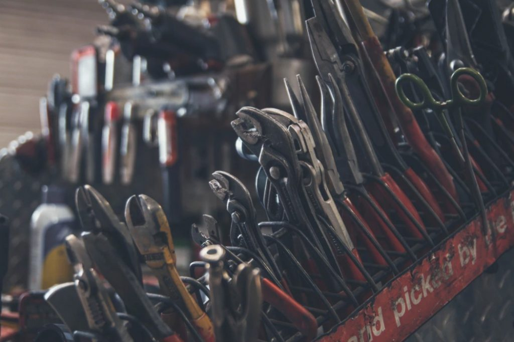 Collection Of Various Tools