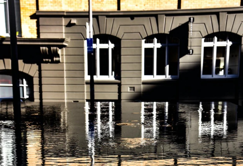 Flooded Offices